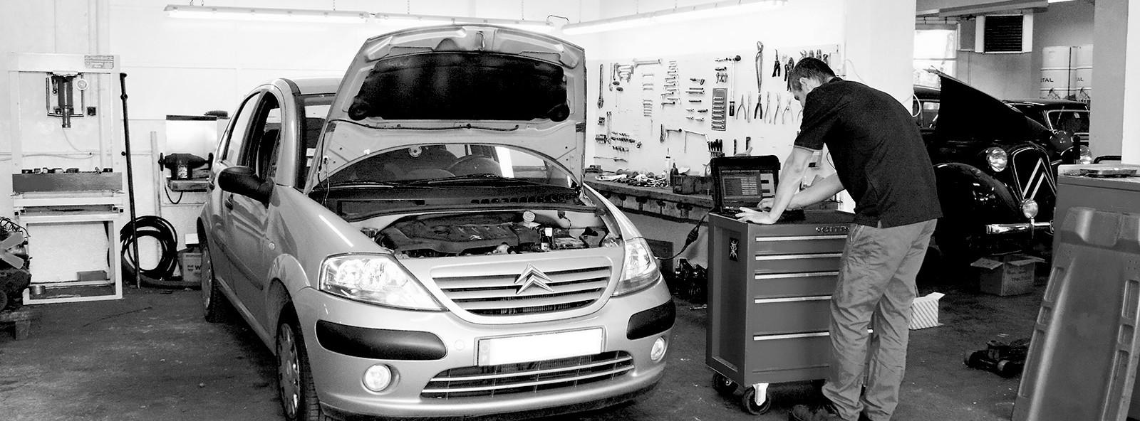 Entretien et réparation de votre véhicule Citroën