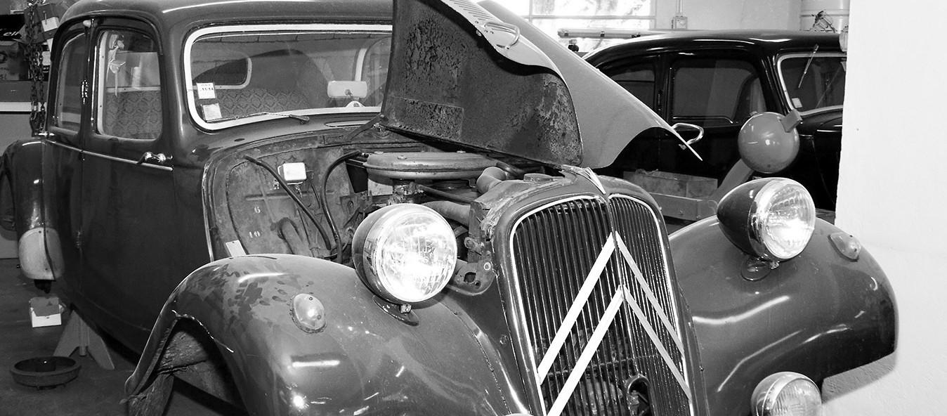 Rénovation de voitures anciennes